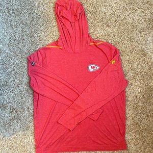 Red Under Armour Kansas City Chiefs Hoodie